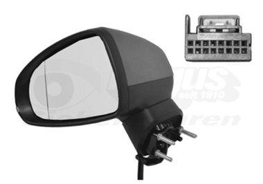 Buitenspiegel elektrisch verstelbaar links | verwarmd/primer 6Pi Audi A1 (8X)