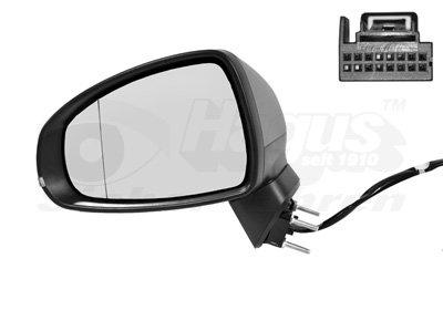 Buitenspiegel elektrisch verstelbaar links | verwarmd/primer 8Pi | elektr. Inklapbaar Audi A1 (8X)